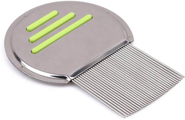 TBUY GREEN Premium Lice Comb With Steel Teeth removes Lice & Nits NIT Free Hair