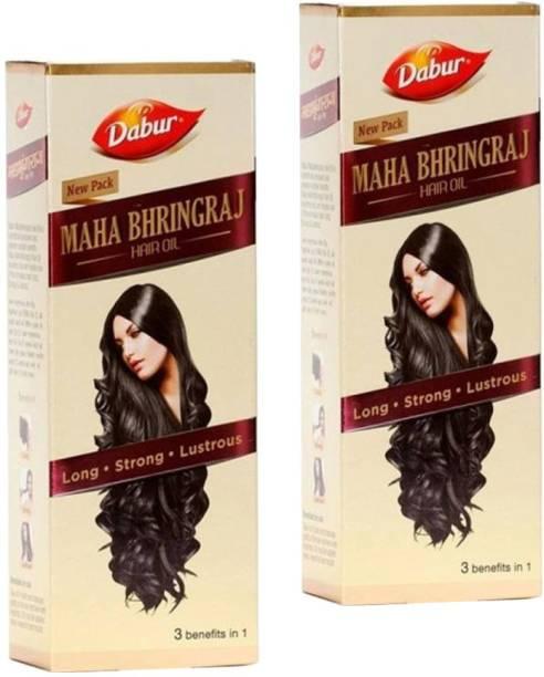 Dabur Maha Bhringraj Hair Oil (Pack of 2 X 300 ml) Hair Oil
