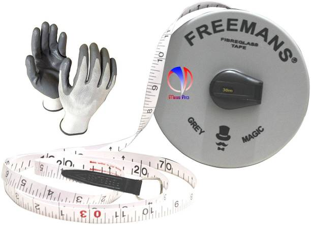 Mass Pro 30 Meter Heavy Duty Highly Durable Quality Measurement Tape