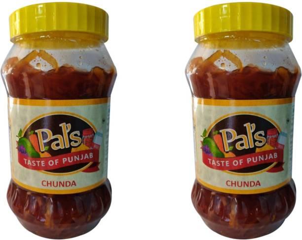 Pals The Taste Of Punjab Ready to Eat Chunda Pack of 2 Mango Pickle