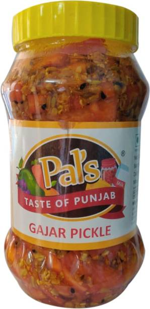 Pals The Taste Of Punjab Ready to Eat Gajar Pickle Carrot Pickle