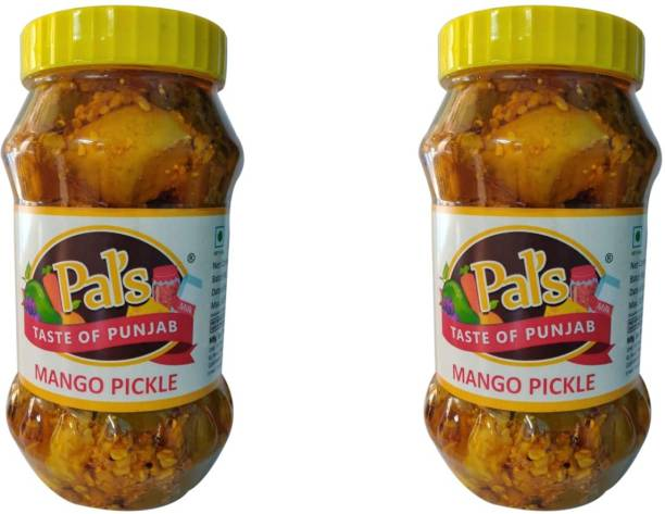 Pals The Taste Of Punjab Ready to Eat Mango Pickle Pack of 2 Mango Pickle