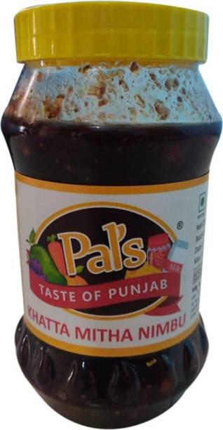 Pals The Taste Of Punjab Ready to Eat Khatta Mitha Nimbu Lemon Pickle