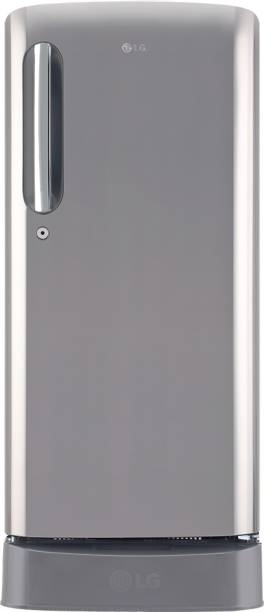 LG 190 L Direct Cool Single Door 4 Star Refrigerator with Base Drawer