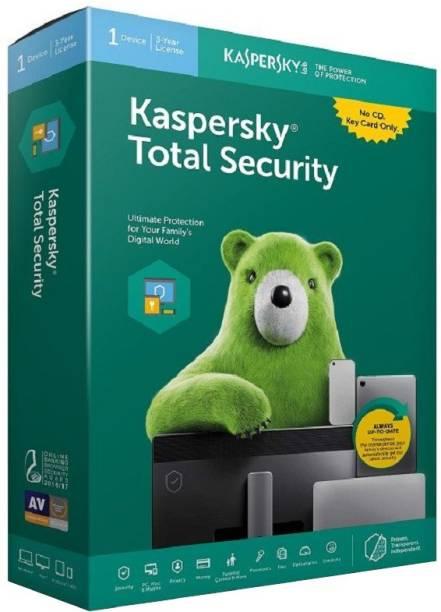 Kaspersky Total Security 1 User 3 Years