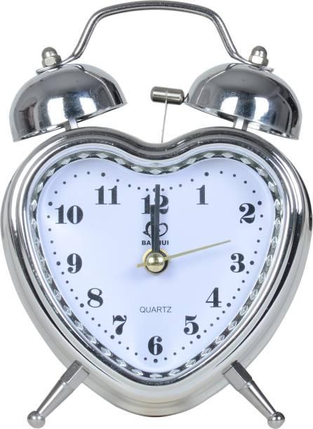 JAMBOREE Analog Silver Clock