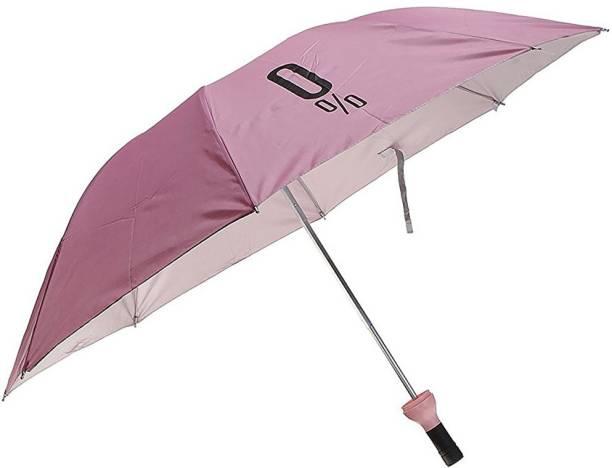 STYLE HOMEZ Fashionable Wine Bottle Pink Travel Umbrella Umbrella