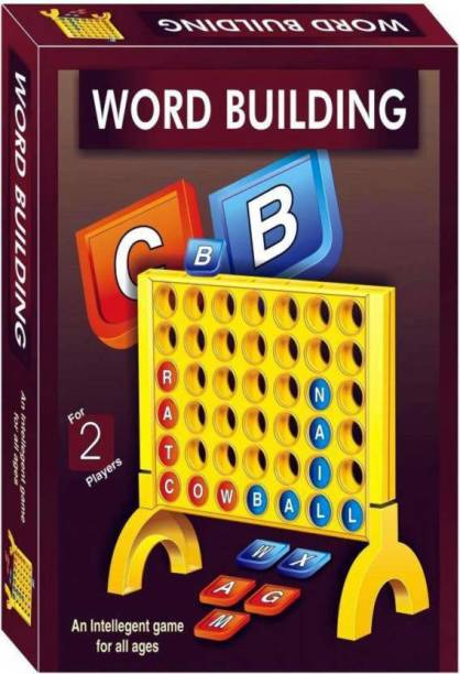 PS Aakriti Educational Word Building Family Board Game (Multicolor) Word Games Board Game