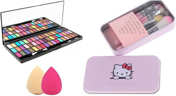 RHV 51 Colour Eyeshadow and Kitty Brush and 2 Beauty Blender