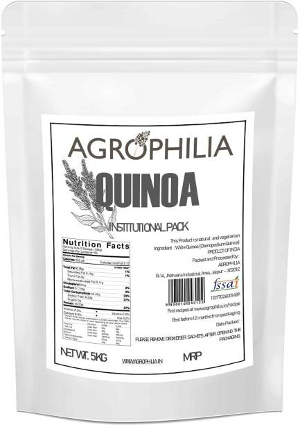 Agrophilia White Quinoa Institutional Pack 5 kg Quinoa