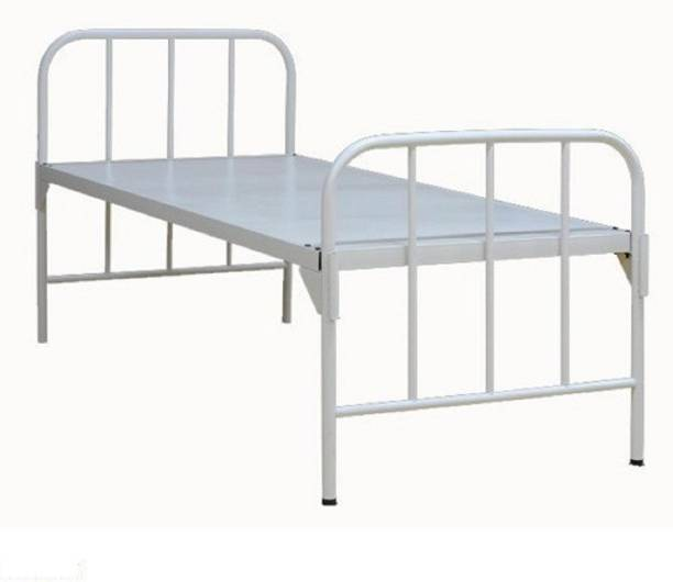 MAHAVIR FURNITURE Steel Manual Hospital Bed