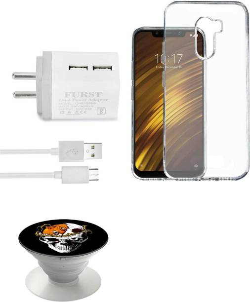 Furst Wall Charger Accessory Combo for POCO F1 by Xiaomi