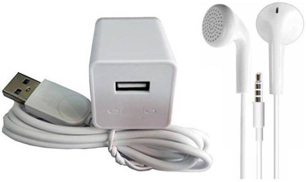 OPPO Wall Charger Accessory Combo for Oppo f1s / f3 / f3 plus / f5 / f5 youth / f7 / a83 / a37 / a71 / a57, F1S, F1 PLUS, FIND 7/ 9, F3, A59S, R9S &, all Smart Phones Like Original Charger (Best Seller Garg Associates)