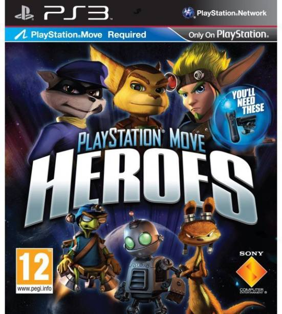 PS3 Playstation Move Heroes (Standard)