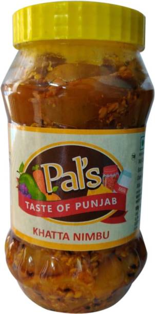 Pals The Taste Of Punjab Ready to Eat Khatta Nimbu Lemon Pickle