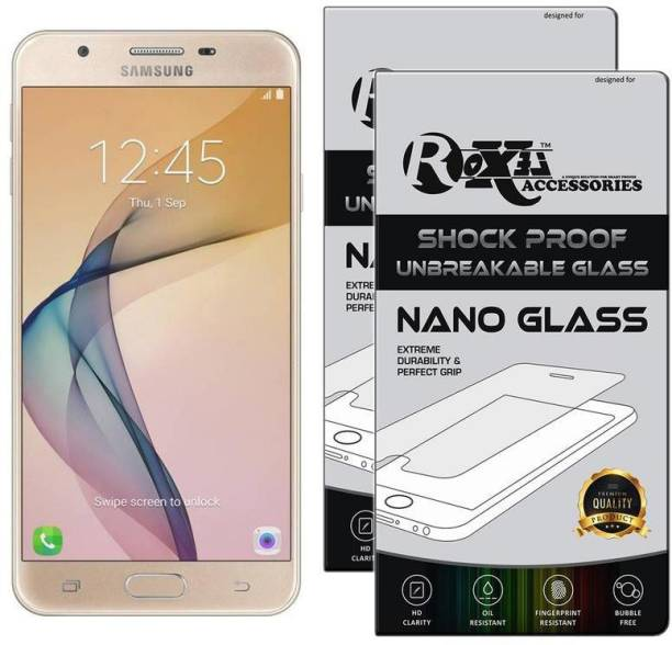 Roxel Nano Glass for Samsung Galaxy J5 Prime (Gold, 16 GB) (2 GB RAM)