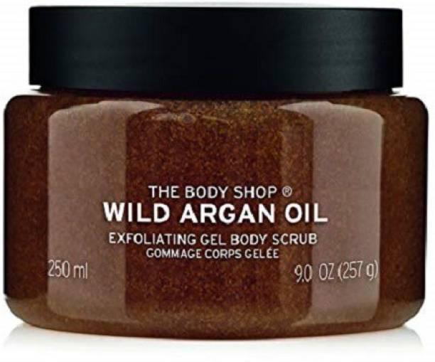 THE BODY SHOP WILD ARGAN OIL BODY SCRUB IMPORTED 262 GM Scrub