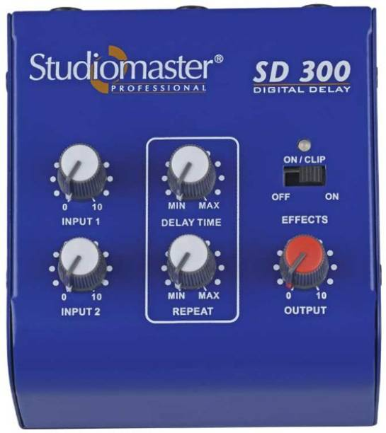 Studiomaster SD 300 with charger and ECHO/DELAY Digital Sound Mixer