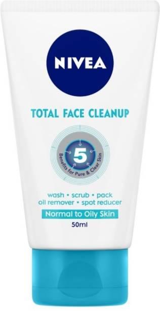 NIVEA Total Face Clean Up Face Wash