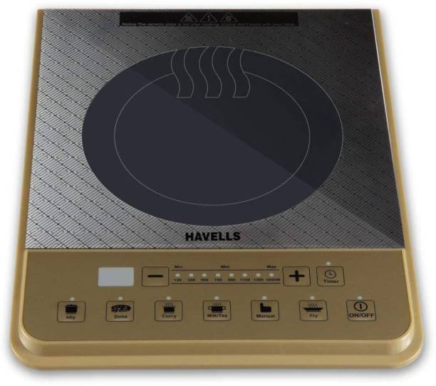 HAVELLS Cook PT 1600W Induction Cooktop