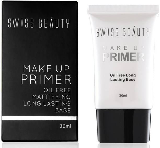 SWISS BEAUTY Make up Primer Oil Free Mattigying Long Lasting Base Primer  - 30 ml