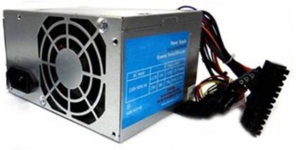 ZEBRONICS SMPS ZEB-N450W (DSATA- 20+4 Pin) Power Supply (Silver) 450 Watts PSU