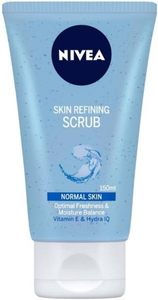 NIVEA Women Face Wash, Skin Refining Scrub with Vitamin E Scrub