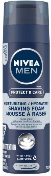 NIVEA Moisturizing Shaving Foam