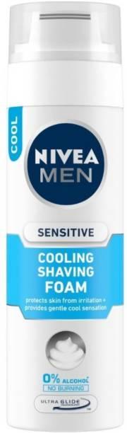 NIVEA Sensitive Cooling Shaving Foam