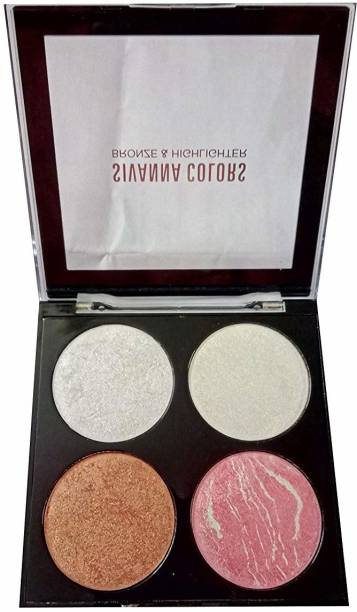 Sivanna 4 in 1 Multicolors Bronzers& Highlighters
