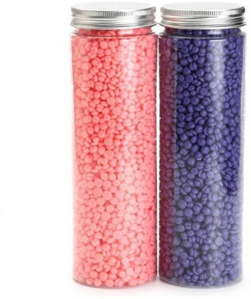 Antezik Kongsung Combo WAX BEANS FOR PAINLESS HAIR REMOVAL Wax Pink 100 + Lavender 100= (200 g) Wax