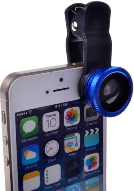 Flabo 3 in 1 Mobile Phone Camera  Kit with Clip on  Lens