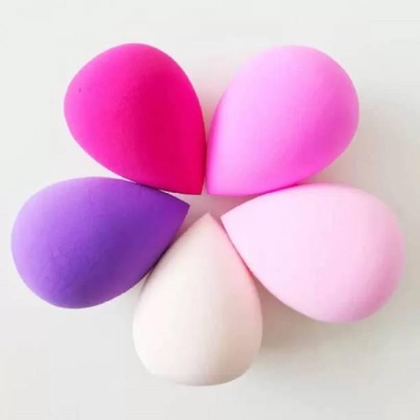 Shopeleven Makeup Beauty Foundation Cream Powder Blender Sponge set of 5