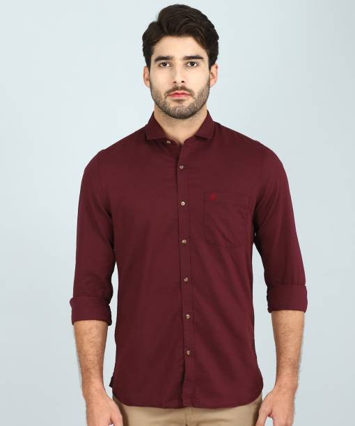 74d53544b1 Linen Shirts - Buy Linen Shirts online at Best Prices in India ...