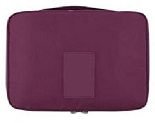 dee6be3830 Styleys Travel Organizer Toiletry Bag For Men Women Travel (Maroon) Travel  Toiletry Kit