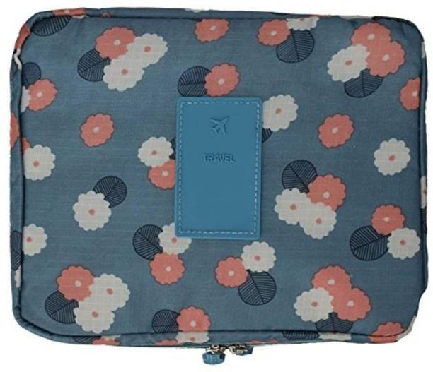 31defd8b182 Styleys Travel Organizer Toiletry Bag For Men Women Travel (Blue Flower)  Travel Toiletry