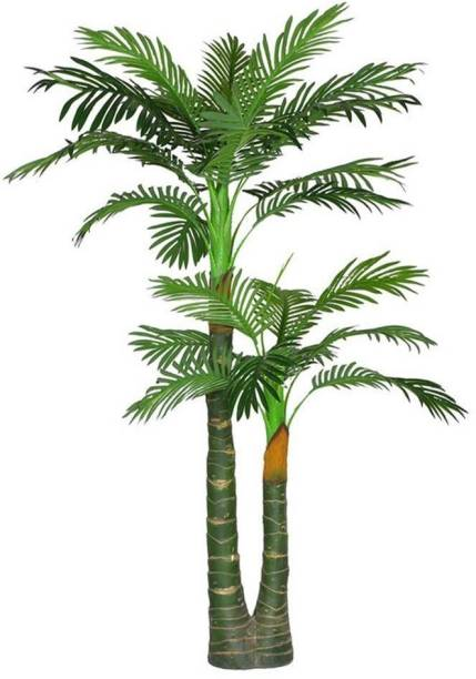 KAYKON Natural Palm Tree Green Plant Home Decorative Artificial Tree - 5 Feet/60 inch Bonsai Artificial Plant