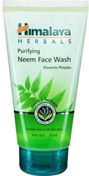 HIMALAYA Herbal purifying neem face wash 50ml Face Wash