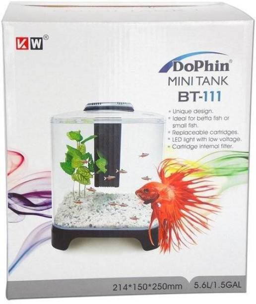 Dophin BT-111 Mini Rectangle Aquarium Tank