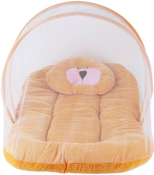 Aayat Kids Luxury Bed Insects Protector Skin Friendly X100 Soft Baby Bed Breathable Crib