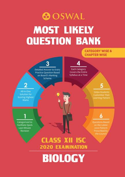 Most Likely Question Bank for Biology: ISC Class 12 for 2020 Examination