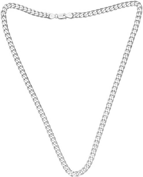 fc73c384f6 Silver Chains - Buy Silver Chains Necklaces online at Best Prices in ...