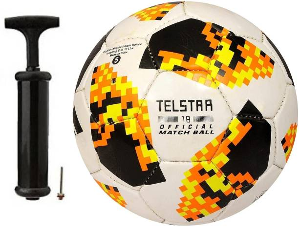 SBS Telstar Yellow 2019 With Air pump Football Kit