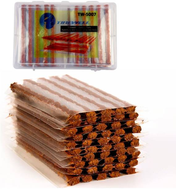 TIREWELL TW-5007 50 PCS Puncture Seal Strips for Tubeless Tyre Puncture Repair Kit
