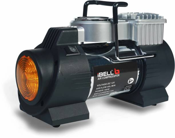 iBELL 150 psi Tyre Air Pump for Car & Bike