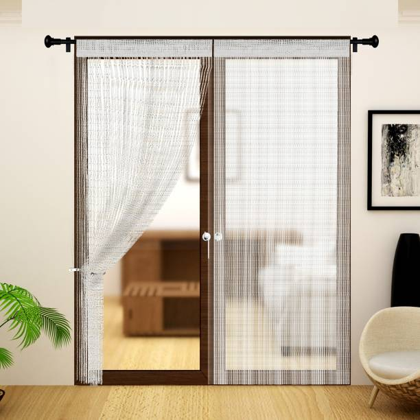 Story@home 213 cm (7 ft) Polyester Door Curtain Single Curtain