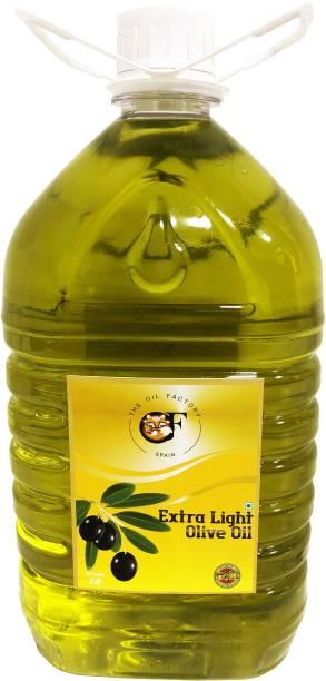 The Oil Factory Extra Light Olive Oil Plastic Bottle