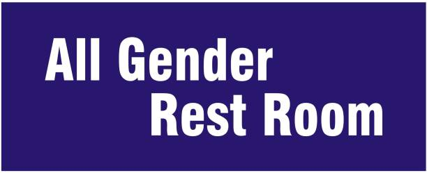 signEver All Gender Rest Room Sign Board For Rooms Banks Office School Hospital college Hotel Restaurant Multi-color (25 x 10 cm) Emergency Sign
