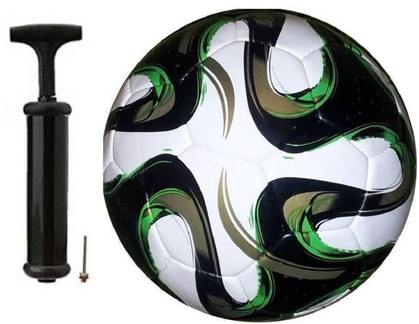 SBS Brazuca Black With Air pump Football Kit