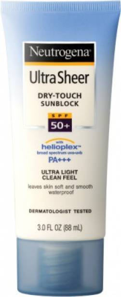 NEUTROGENA ULTRA SHEER DRY TOUCH SUNBLOCK SPF 50+ PA+++ 88 ML (IMPORTED) - SPF 50 PA+++